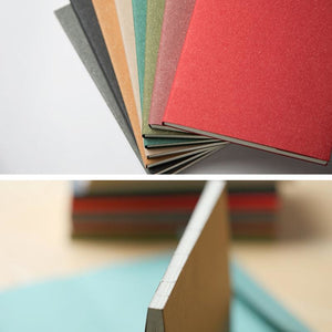 Vintage Color Grid Notebook - All Written Down
