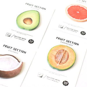 Exotic Fruit Sticky Notes - All Written Down