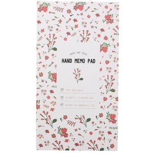 Personal Hand Memo Pad - All Written Down