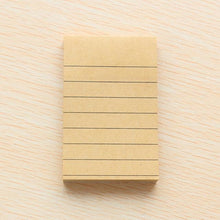 Craft Paper Sticky Memo Pad - All Written Down