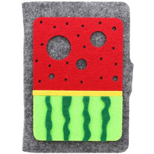 A6 Watermelon Felt Cover Journal - All Written Down