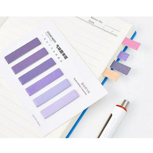 Pure Colors Index Sticky Notes - All Written Down