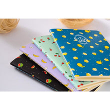 Flying Fruits Notebook Set | 4 Pieces - All Written Down