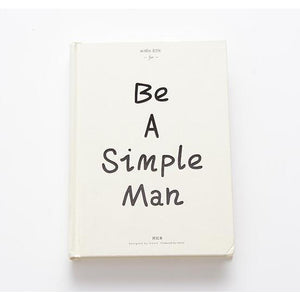 Be A Simple Man A5 Hardcover planner - All Written Down