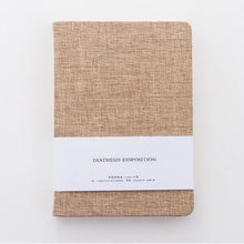 Fabric Hardcover Blank Notebook - All Written Down