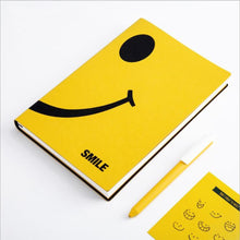 Smile A5 Leather Notebook - All Written Down