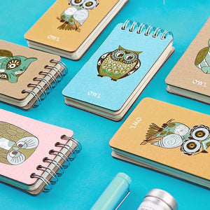 Owl Mini Notebook - All Written Down