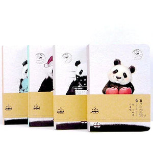 Panda Club Colored Pages Notebook - All Written Down
