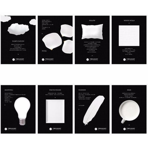 Pure White Series Sticky Notes | 4 Pads - All Written Down