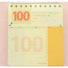 100 Days To Success Desk Planner - All Written Down