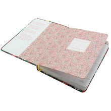Floral Leather Planner - All Written Down
