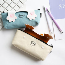 Cat Paws Canvas Pencil Case - All Written Down