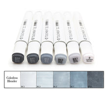 Shades Of Gray Dual Tip Art Markers- 6/12/30 Piece Set - All Written Down