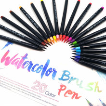 Watercolor Soft Brush Pen - 20 Piece Set - All Written Down