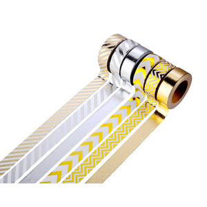 Gold & Silver Masking Tape Set - All Written Down