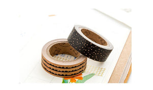 Craft & Black Design Washi Tape 8 pack - All Written Down