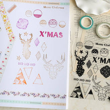 Christmas Silicone Stamps Set - All Written Down