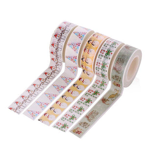 Christmas Washi Tape - Set of 5 - All Written Down