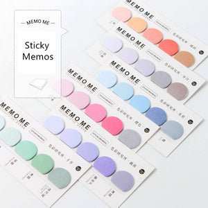 Rainbow Index Sticky Memo Set | 6 Pads - All Written Down