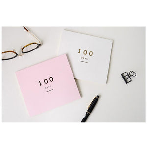 100 Days Countdown Planner - All Written Down