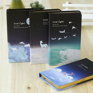 'The First Light' Series Lined Pages Notebook - All Written Down