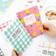100 DAYS Project Planner - All Written Down