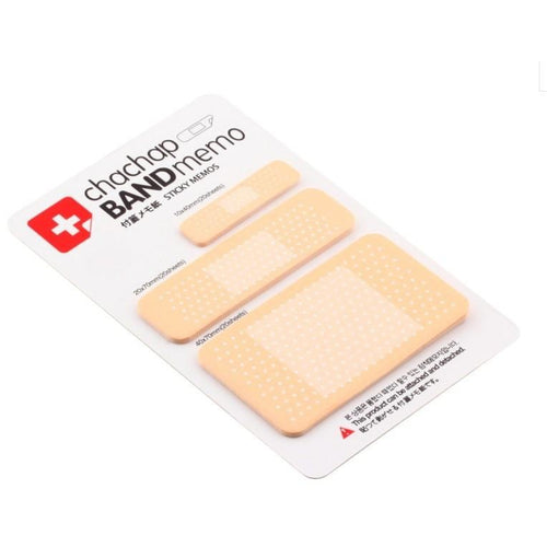 Band-aid Sticky Notes - All Written Down