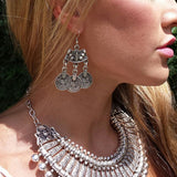 Bohemian Indian Drop Earrings