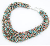 Bohemian Candy Beads Statement Necklace