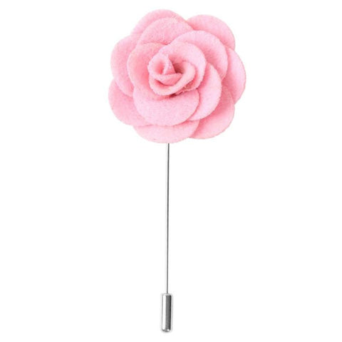 Wool Flower Lapel Pin / Boutonniere