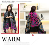 Shawl Knit Wrap Cashmere Poncho Capes
