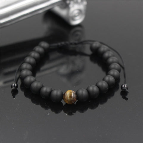 Adjustable Lava Bracelets
