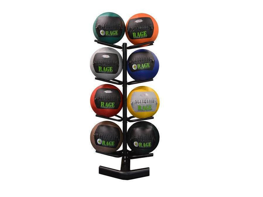 Buy Medicine Ball Rack - 4 Tier, Free Shipping - EmpowerGyms.com