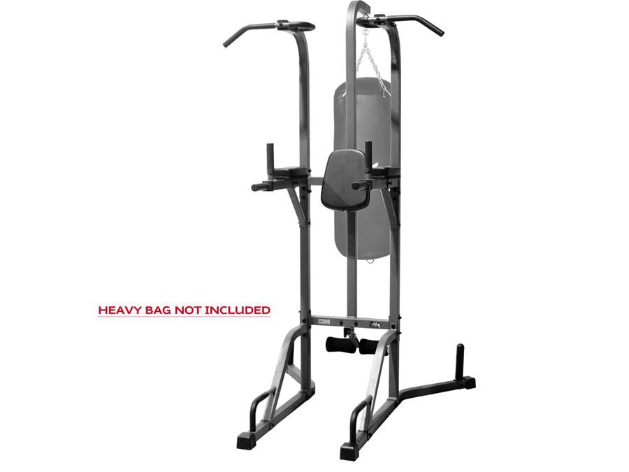 Buy Deluxe Power Tower and Heavy Bag Stand, Free Shipping - EmpowerGyms.com