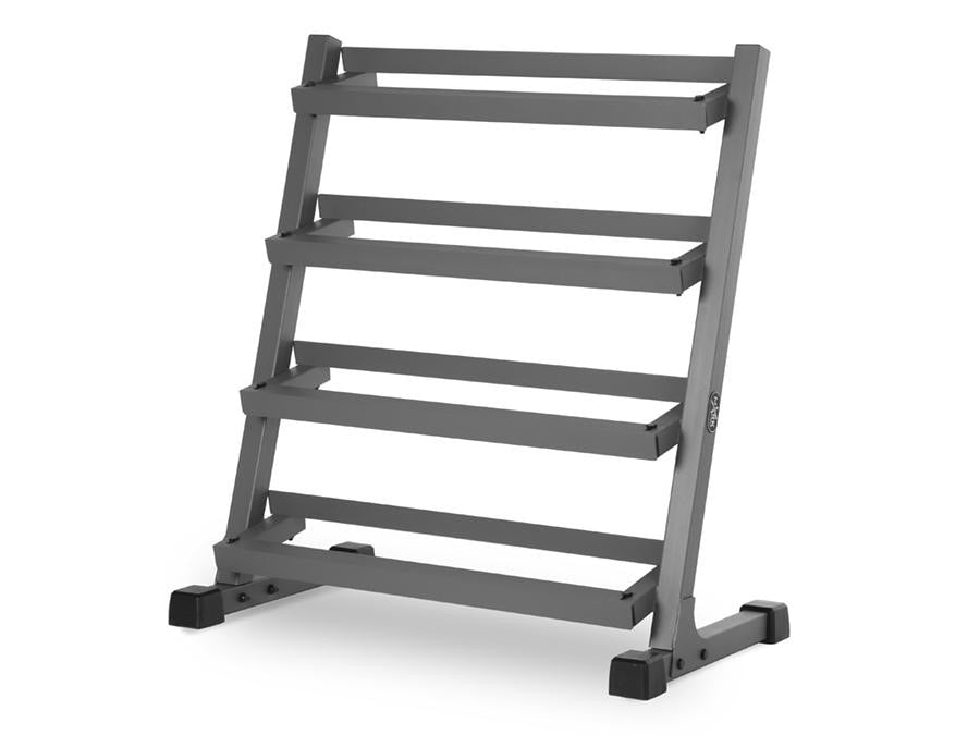 Buy XMark Four Tier Dumbbell Rack, Free Shipping - EmpowerGyms.com