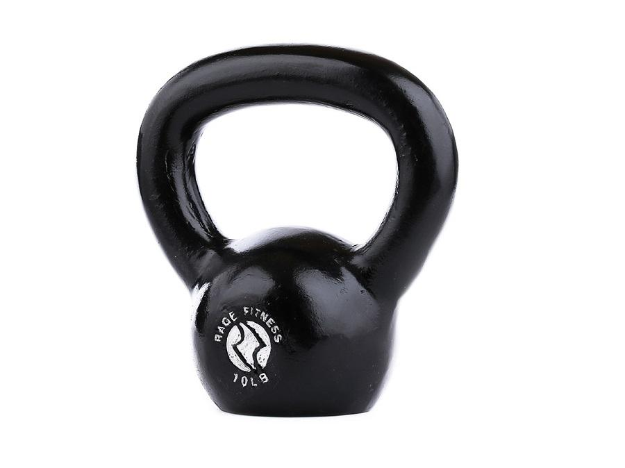 Buy Cast Iron Kettlebell - 10lbs-100lbs, Free Shipping - EmpowerGyms.com