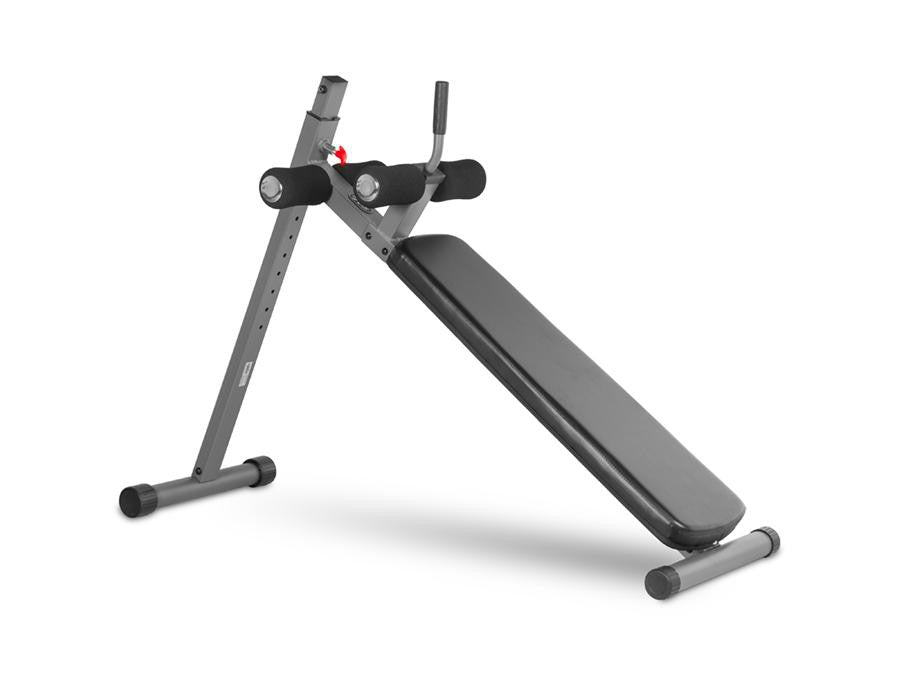Buy XMark Adjustable Ab Decline Bench, Free Shipping - EmpowerGyms.com