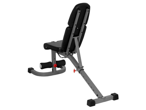 Buy Sliding Flat/Incline/Decline System Weight Bench with Preacher Curl Station, Free Shipping - EmpowerGyms.com