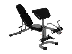 Buy Ladder Catch Flat/Incline/Decline System Weight Bench with Arm & Leg Station, Free Shipping - EmpowerGyms.com
