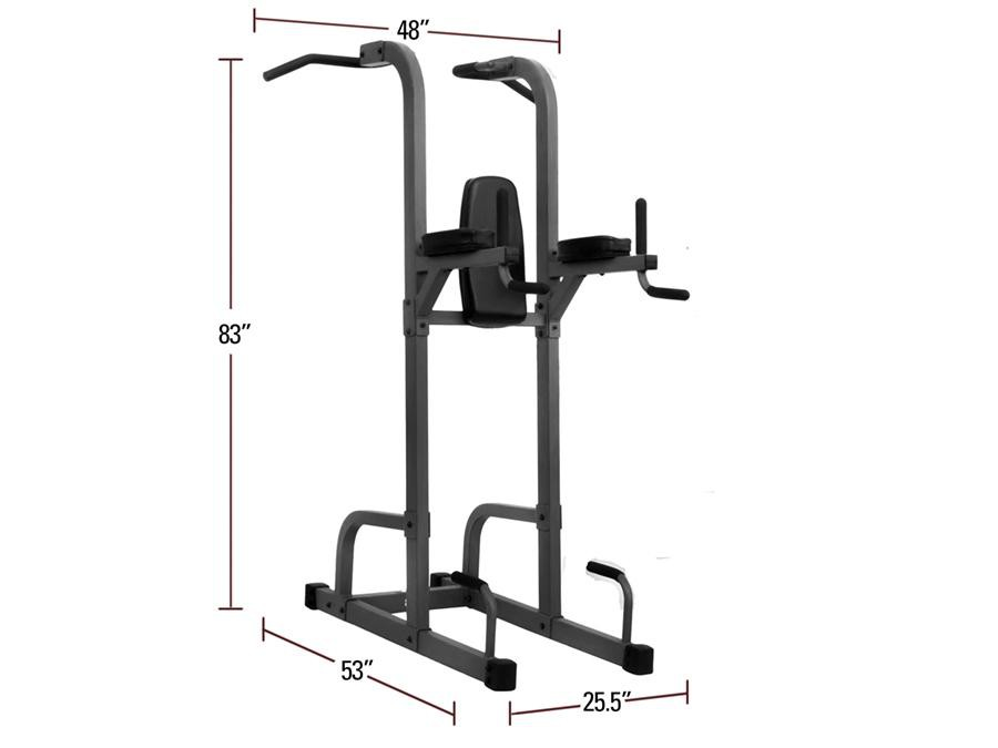 Buy XMark Heavy Duty Commercial Power Tower, Free Shipping - EmpowerGyms.com