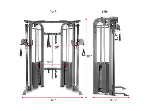 Buy XMark Functional Trainer, Free Shipping - EmpowerGyms.com