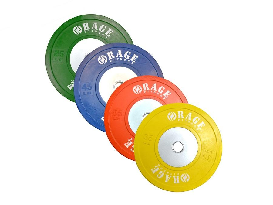 Buy Competition Bumper Plates - kgs, Free Shipping - EmpowerGyms.com