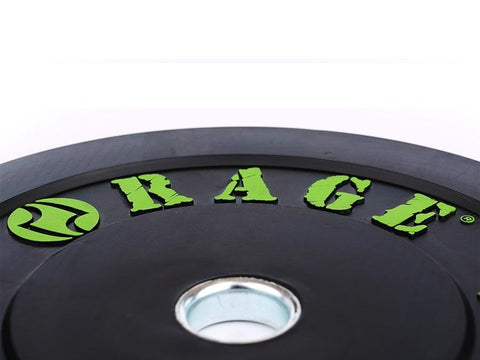 Buy Olympic Pro Rubber Bumper Plates, Free Shipping - EmpowerGyms.com