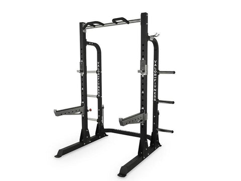 Buy Valor Fitness Half Power Rack with Plate Storage, Free Shipping - EmpowerGyms.com