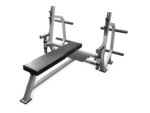 Buy Bench Press with Spotter Stand and Safety Stops, Free Shipping - EmpowerGyms.com