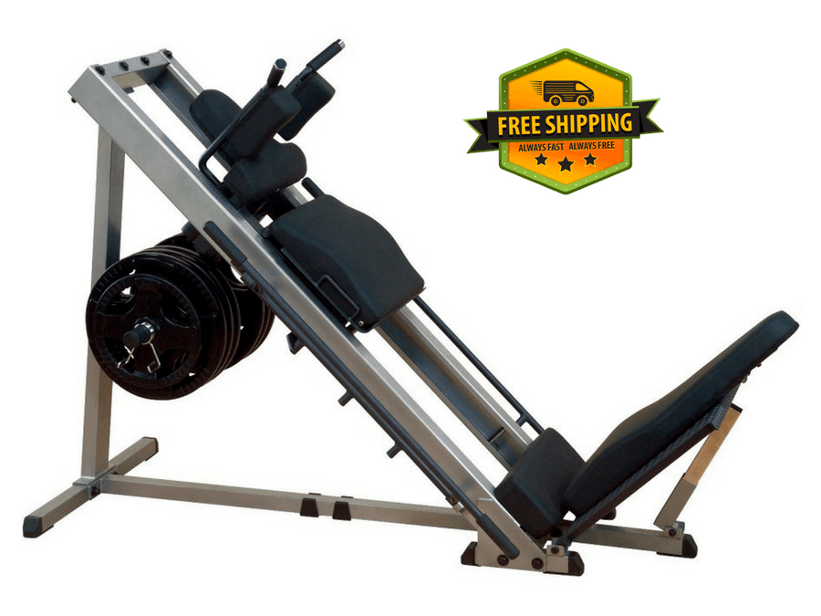Buy Body Solid Leg Press & Hack Squat Machine - GLPH1100, Free Shipping - EmpowerGyms.com