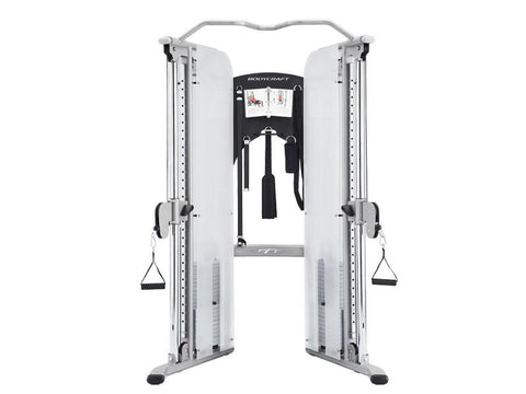 Buy Bodycraft PFT V2 Commercial Functional Trainer with 7 Cable Attachments, Free Shipping - EmpowerGyms.com