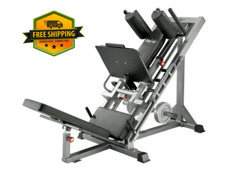 Buy Bodycraft Linear Bearing Hip Sled & Leg Press - F660, Free Shipping - EmpowerGyms.com