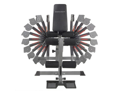 Buy Bodycraft XPress Pro Strength Training Home Gym System, Free Shipping - EmpowerGyms.com