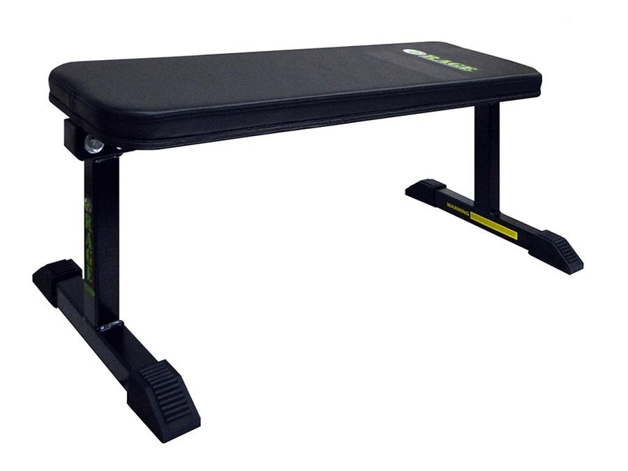 Buy Rage Fitness Flat Weight Bench, Free Shipping - EmpowerGyms.com